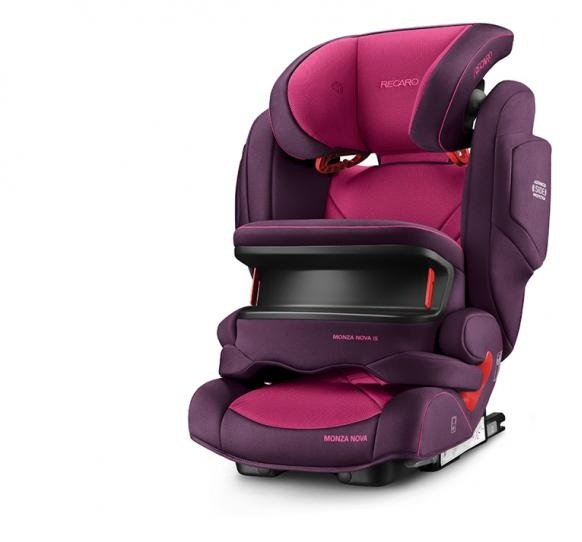 Recaro Стол за кола MONZA Nova IS Seatfix /9-36 кг/ Power berry 6148.21508.66